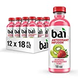 Bai Kupang Strawberry Kiwi, Antioxidant Infused Beverage, 18 fl oz bottle (Pack of 12)