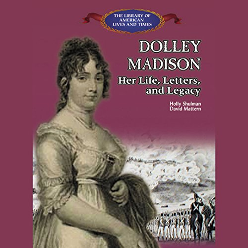 Dolly Madison audiobook cover art
