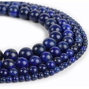 Edelsteine Perlen Natur 8mm Indische Saphir Rund Schmucksteine 1 Strange G20