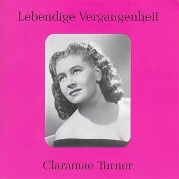 Lebendige Vergangenheit - Claramae Turner