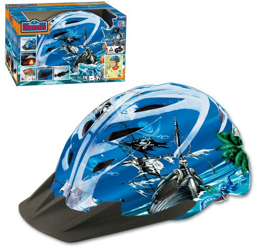 Happy People Pirates Scout Casque de vélo 48-52 cm