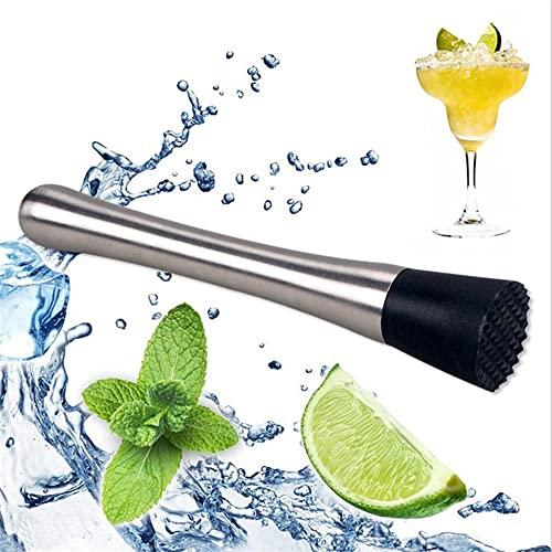 Pestello Cocktail, Pestello Cocktail Mojito, Masher Cocktail, Cocktail Tritaghiaccio, Ghiaccioli da Cocktail, Uno Strumento Indispensabile per i Baristi per Tritare Il Ghiaccio