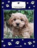 Composition Notebook: College Ruled Pages  / Checklist and Dot Grid Pages / Dog Lover Journal Gift, Featuring Puppy Cavapoo Cover Design