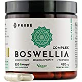 Tribe Organics, 420mg Boswellia Complex for Joint...