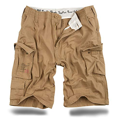 Trooper Cargo Shorts Lightning Edition - beige XXL