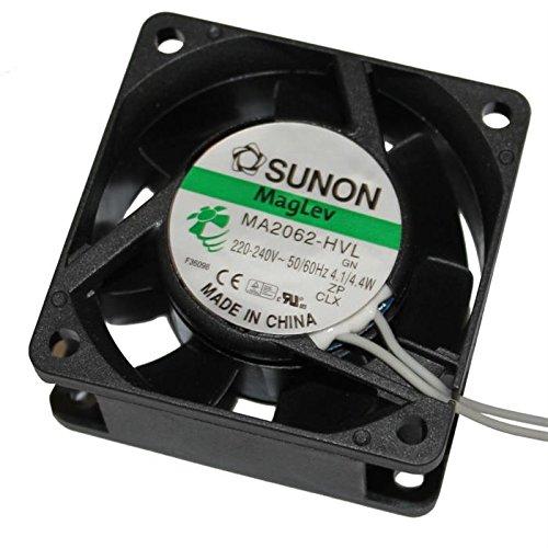 Lüfter 230V 4,1W 60x60x25mm 29,7m³/h 30dBA ; Sunon MA2062HVL