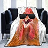 PRESANEW Super Soft Flannel Fleece Cozy Throw Blanket Divinity Original Sin 2 Chicken Reversible with 3D Print for Couch Bed Sofa