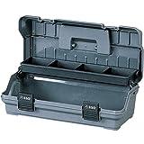 アイリスオーヤマ 工具箱 ハードケース 42L グレー【幅約42×奥行約20×高さ約14cm】