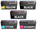 Prestige Cartridge Set 5X Tonerkartusche 1320 kompatibel zu Dell Laserdrucker 1320 1320c 1320cn