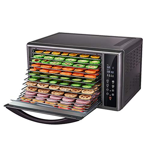 For Sale! CJSWT Premium Electric Food Dehydrator Machine, Digital Timer and Temperature Control, 13 ...