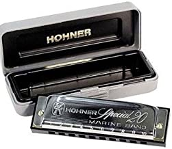 Hohner Special 20 Harmonica, Key of D