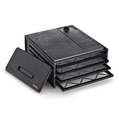 Excalibur fpth01694bandeja deshidratador de alimentos, color negro