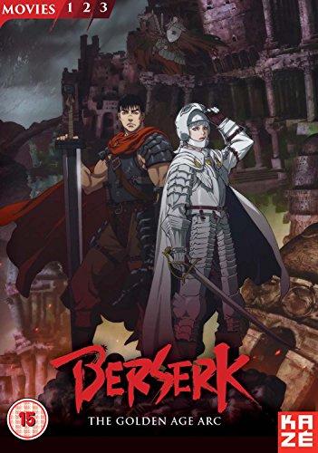 Berserk: The Golden Age Arc Movie Collection [Reino Unido] [DVD]