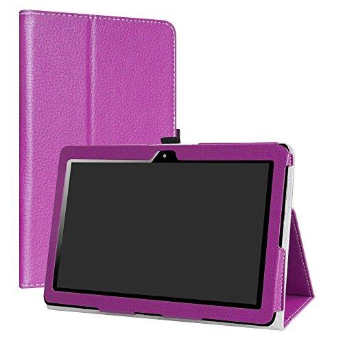 MediaPad T3 10.0 hülle,LiuShan Folding PU Leder Tasche Hülle Hülle mit Ständer für 10.1