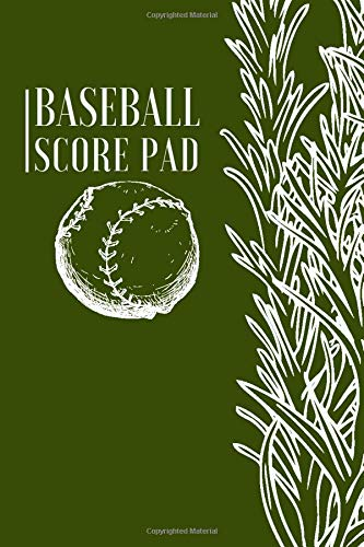 Baseball Score Pad: Professional Baseball Scoring Sheet, Score Sheet Notebook for Outdoor Games, Gifts for Game Records, Game lovers, Friends and ... with 110 Pages. (Baseball Scorebook, Band 8)