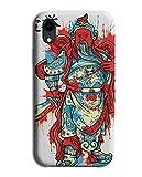 Coque pour Sony Xperia Z3 Motif bouddha japonais rouge et bleu