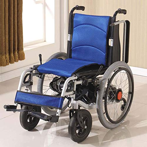 Purchase GJX Self-Service Wheelchair, Steel Collapsible Universal Control Electric Wheelchair, with ...