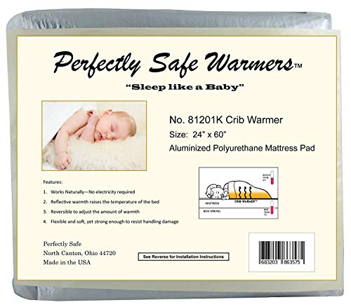 Body Heat Activated Crib Twin Full Queen or King Size Bed Warmer Mattress Pad Crib