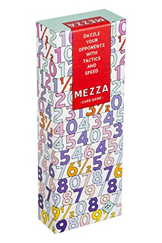 Mezza card game: dazzle your opponents with tactics and speed