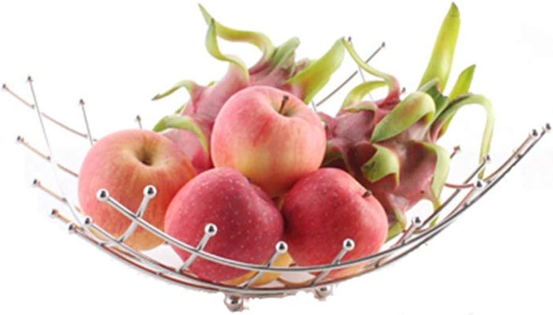 WUYAO Acier Inoxydable Fruits Panier Cuisine Légumes Fruits Présentoir De Bureau Boîte De RangeHommest De Bureau Perles Fruit Rack