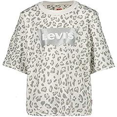 Levi's Camiseta de Manga Corta Color Blanco para Niña
