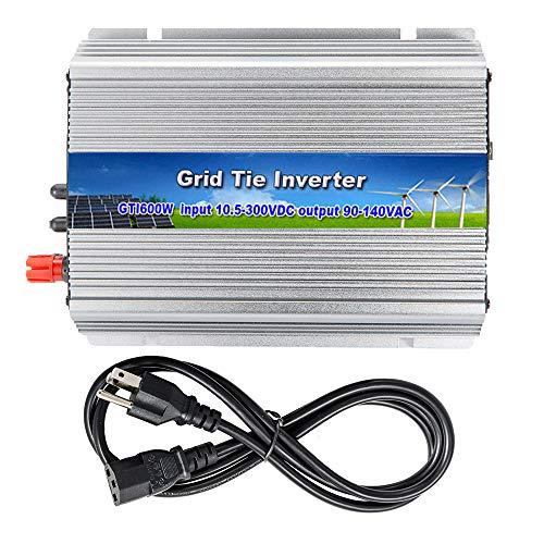 iMeshbean 600W 600 Watt Grid Tie Inverter MPPT Accept 10.8v-30 V DC/120v AC , Solar Power Pure Sine Wave USA Seller
