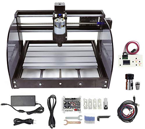 RATTMMOTOR CNC 3018Pro-Max 3Axis GRBL Control DIY Mini CNC Engraving Milling Machine + ER11 Collet + CNC Offline Controller