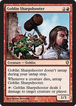 Magic The Gathering - Goblin Sharpshooter (111/356) - Commander 2013