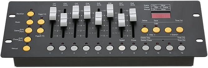 تشيورت ميني 192 قناة DMX512 وحدة تحكم تحكم في مرحلة إضاءة المشغل معدات للحفلات والنادي والحفلات المدرسية