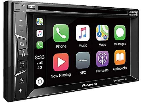 "Pioneer AVH-1400NEX 6.2\"" Double-Din in-Dash Nex DVD Receiver with Bluetooth, Apple Carplay and Siriusxm Ready"
