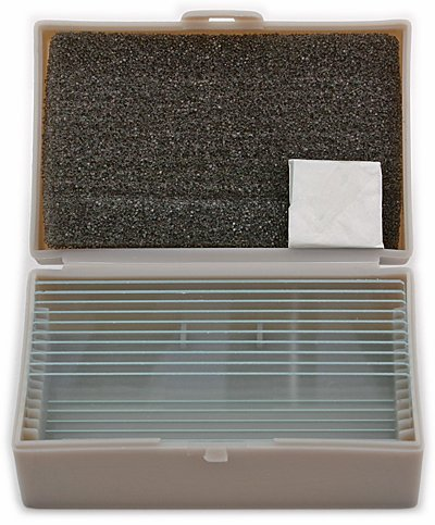 TS-Optics TSMOB 30x Objektträger inkl. Deckgläser aus Glas - für Mikroskope, 3xMOB