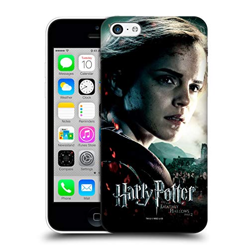 Oficial Harry Potter Hermione Granger Deathly Hallows VIII Carcasa rígida Compatible con Apple iPhone 5c