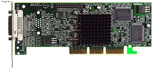 Matrox G45FMLDVA32DB G450 DVi Dual LP AGP-Grafikkarte ID18467