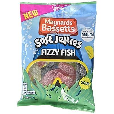 maynards bassetts fizzy fish soft jellies 160 g-pack of 10 Maynards Bassetts Fizzy Fish Soft Jellies 160 g-Pack of 10 51PnMOXWT5L
