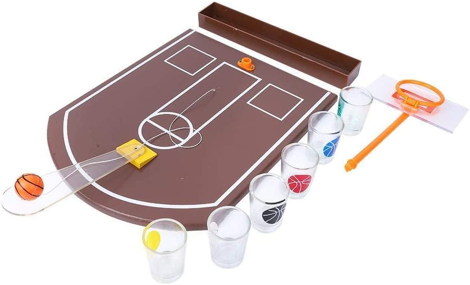 Conlense Acrylic Challenge the lowest price of Japan ☆ Table Basketball Mesa Mall Game Mini Drinking Innovative