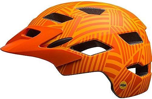 Bell Sidetrack Youth MIPS Bike Helmet - Kid's Matte Tang Orange Seeker