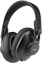AKG K361BT Over Ear Foldable Studio Headphones With 28 Hour Battery Life, Bluetooth 5.0 And HD Microphones For Calls, Live...