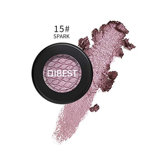 Luckhome Farben Schimmer Matt Mineral Pigment Lidschatten Palette Nude Beauty Make up (C)