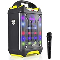 Pyle Pro Portable Bluetooth Karaoke Speaker System