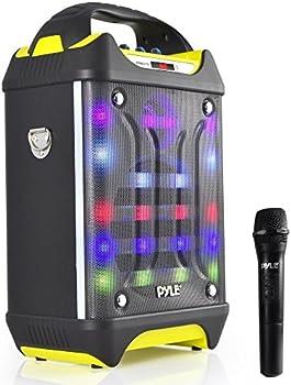 Pyle Pro Portable Bluetooth Karaoke Speaker System