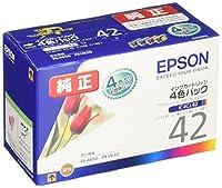 エプソン 純正 インクカートリッジ チューリップ IC4CL42 4色パック
