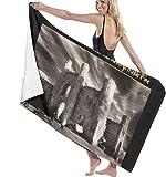 Bath Towel, BowersJ U2 The Unforgettable Fire Bath Towels Super Absorbent Beach Bathroom Towels for Gym Beach SWM SPA
