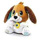 VTech - Toutou Parle Avec Moi, Chien Peluche, chien interactif, jouet éducatif – Version FR