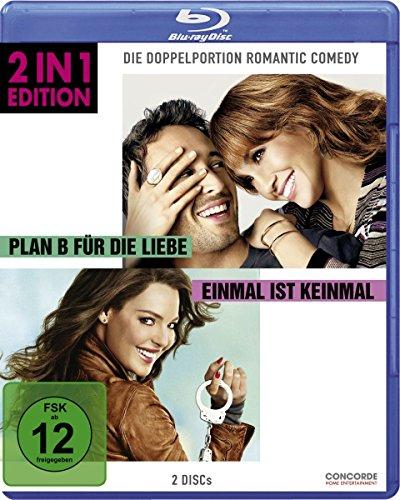 Einmal ist keinmal/Plan B für die Liebe - 2 in 1 Edition [Blu-ray]