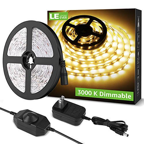 Our #3 Pick is the HitLights Weatherproof Warm White LED Light Strip