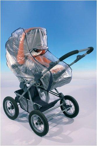 Regenverdeck für Kinderwagen Soft mit Reissverschluss