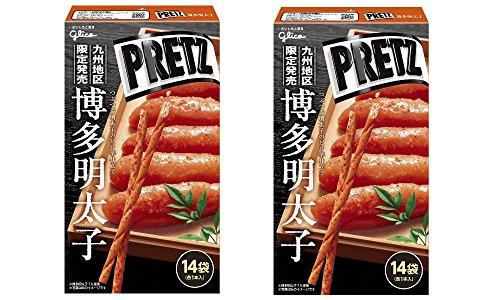 ジャイアント 博多明太子プリッツ 14袋入 ×2箱(計28本) 九州限定