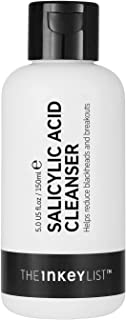 The INKEY List 2% Salicylic Acid Cleanser to Reduce Blackheads and Breakouts for Oily Blemish Prone Skin 150ml