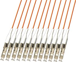RiteAV - Direct Burial/Outdoor LC-LC 12-Strand Fiber Optic Cable - Multimode (50/125) - 100M