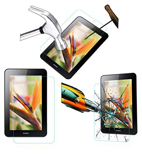 Acm Tempered Glass Screenguard Compatible with Huawei Mediapad 7 Youth 2 Tablet Screen Guard Scratch Protector